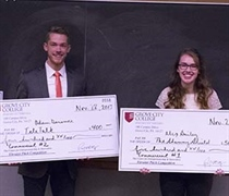 Elevator Pitch winners gain entrepreneurial experience