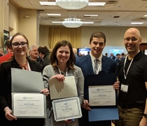 Mechanical engineering undergrads earn awards