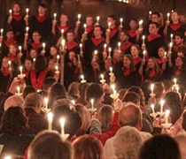 Traditional Christmas Candlelight Service brightens season