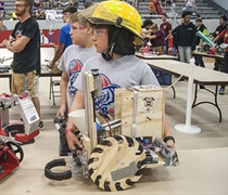 Robots take over for Regional BEST competition