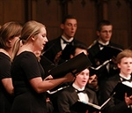 Touring Choir ushers in springtime with home concert