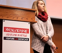 Entrepreneurial students compete for Venture Battle funding