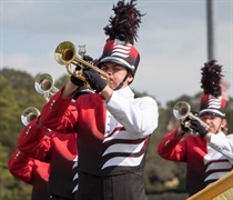 Wolverine Marching Band hosts festival on campus