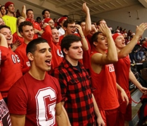 A Wolverine 'Red Out' for conference home opener