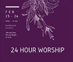 Students organize 24-hour worship marathon