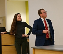 Chemistry alums share graduate experience with current students