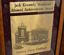 College fetes alumni achievers, longtime Board chair