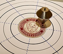 Rockwell's Foucault pendulum is swinging again
