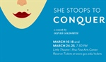 Theatre Program presents 'She Stoops to Conquer'