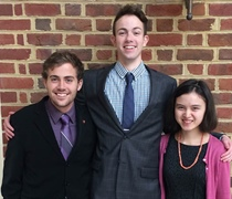 Students present papers at faith and history conference