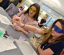 Grove City College sponsors Girls Rock Science