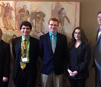 History majors present papers, win honors at conference