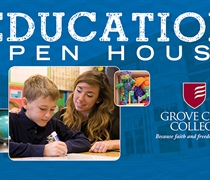 Education Open House at Grove City College set for Dec. 5