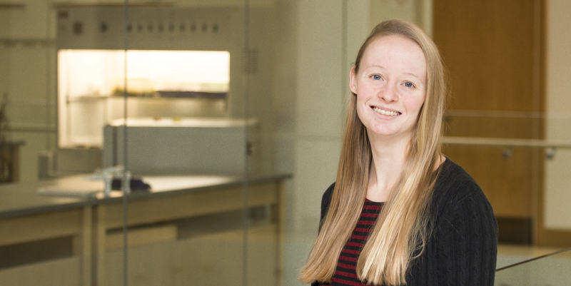 Undergraduate researcher earns top spot at scientific symposium