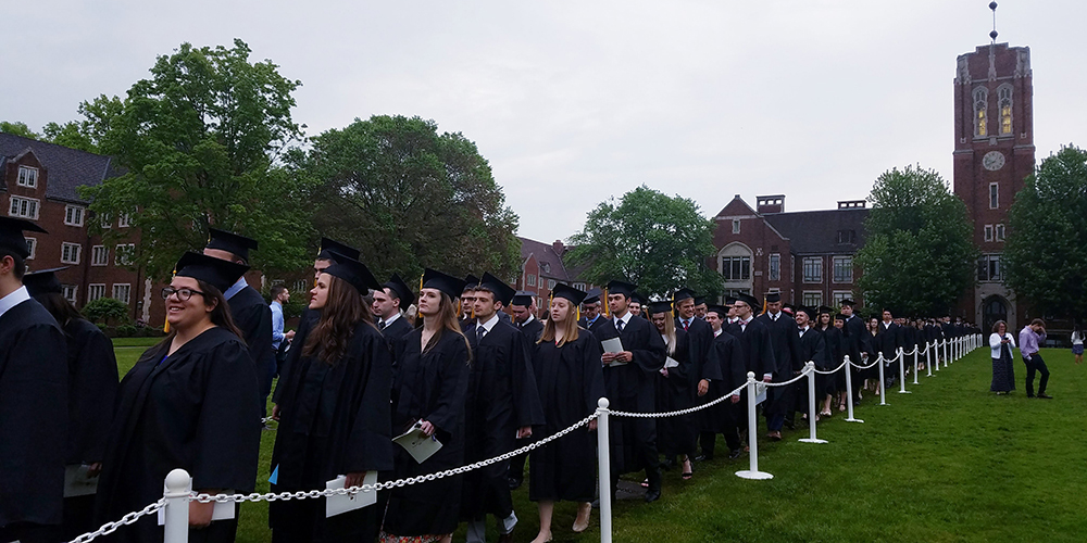 Sasse addresses Grove City College Class of 2019