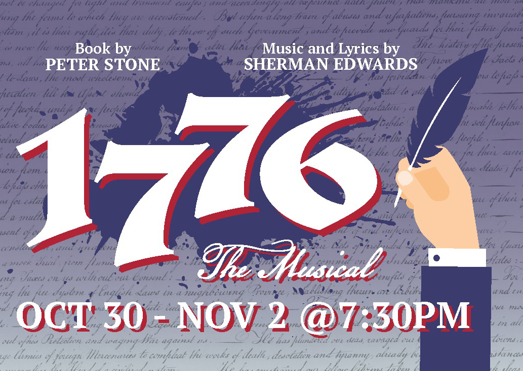 Theatre Program presents '1776' with a twist