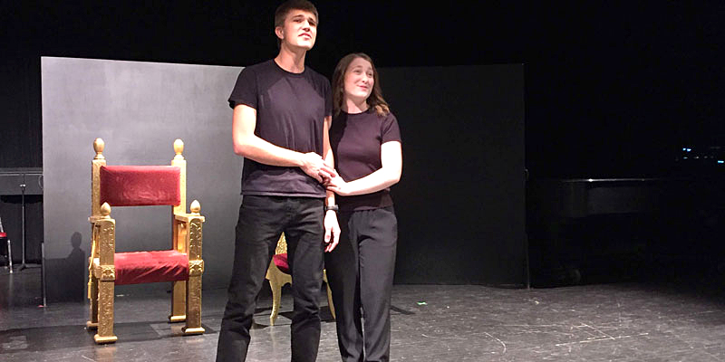 The final scenes: Musical theater class puts on a show