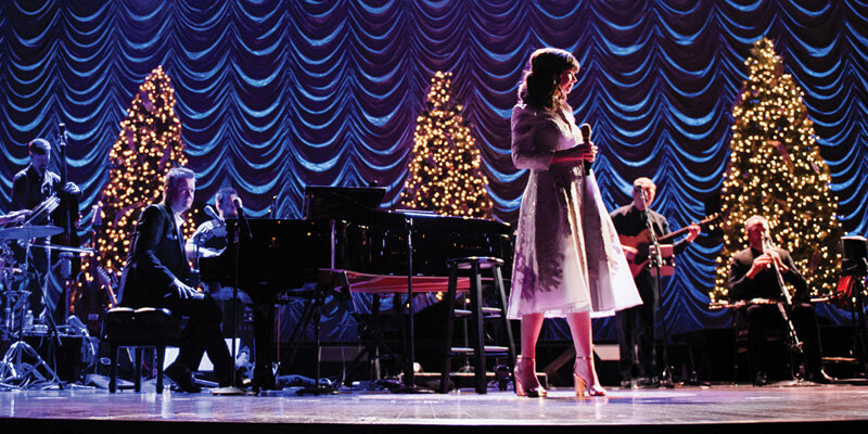 College is sponsor partner of Gettys Irish Christmas show at Benedum