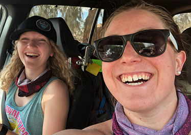 Alumna takes on off-road Rebelle Rally challenge