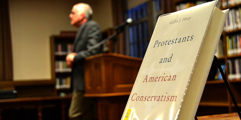 Faculty author discusses religion, politics at Georgetown