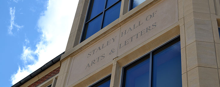 Staley Hall of Arts and Letters rededicated