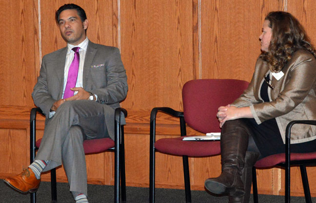 State education official meets with diversity advocates, students at GCC