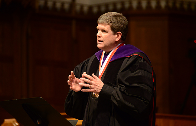 McNulty installed as ninth President of Grove City College