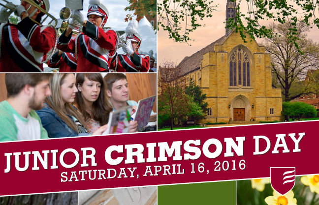 Don't miss Grove City College's Junior Crimson Day
